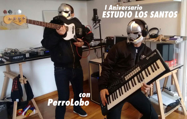 Primer Aniversario de Estudio Los Santos: Especial PerroLobo post image