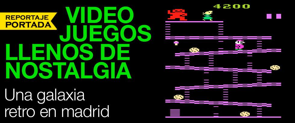 Una galaxia de videojuegos retro en Madrid thumbnail