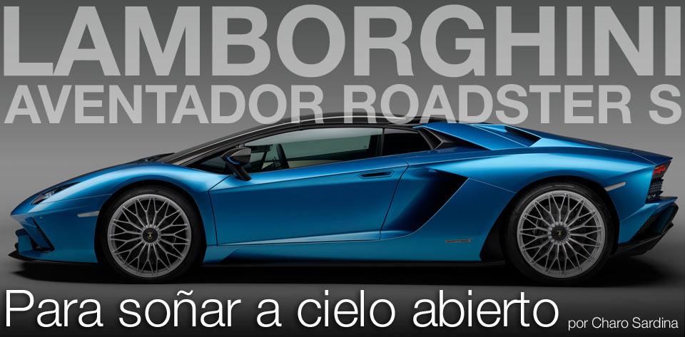 LAMBORGHINI AVENTADOR ROADSTER S post image