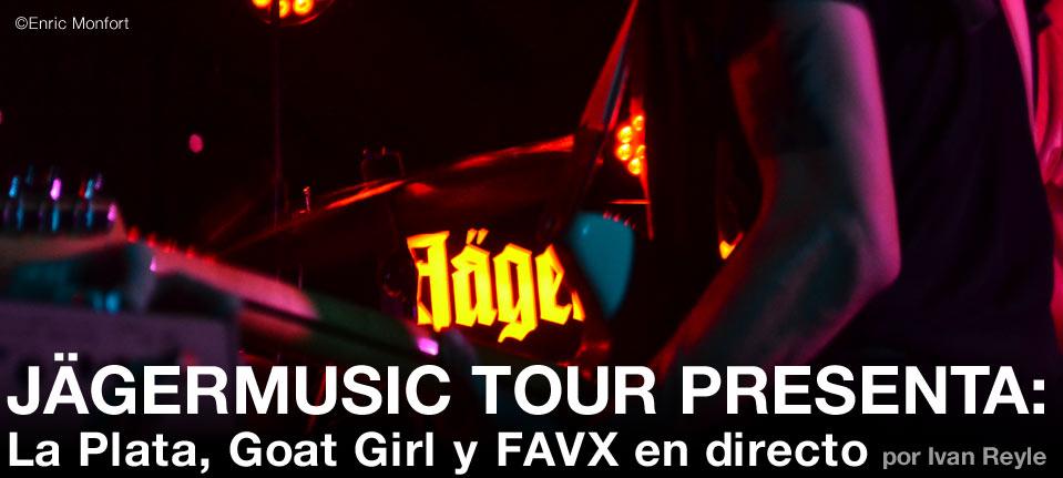 JÄGERMUSIC TOUR PRESENTA: LA PLATA, GOAT GIRL Y FAVX EN DIRECTO post image