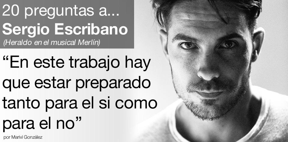 Entrevista a Sergio Escribano post image