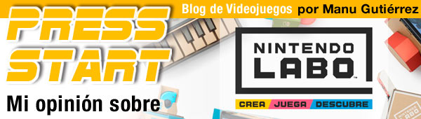 Mi opinión: Nintendo Labo thumbnail