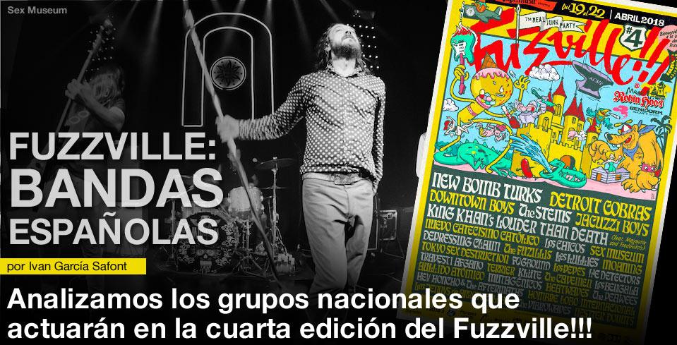 FUZZVILLE 2018: BANDAS ESPAÑOLAS post image