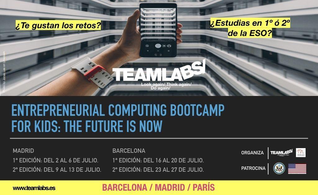 Teamlabs lanza un campamento de verano de tecnología y emprendimiento