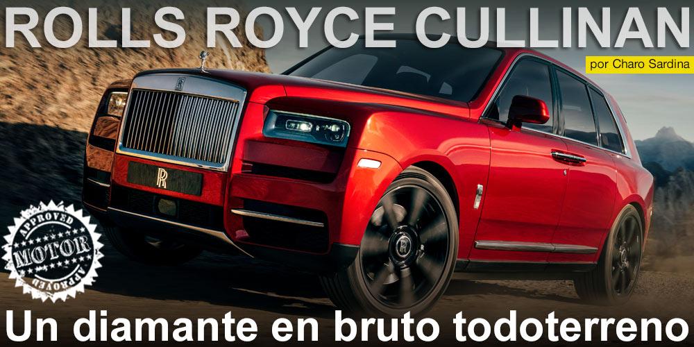 Rolls Royce Cullinan, un diamante en bruto todoterreno post image