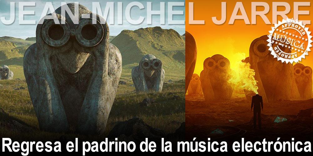 Regresa Jean-Michel Jarre, el padrino de la música electrónica post image