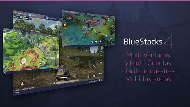 Nuevos y más potentes dispositivos para juegos móviles con BlueStacks 4