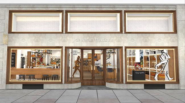 Johnnie Walker escoge Madrid para abrir su primera tienda flagship