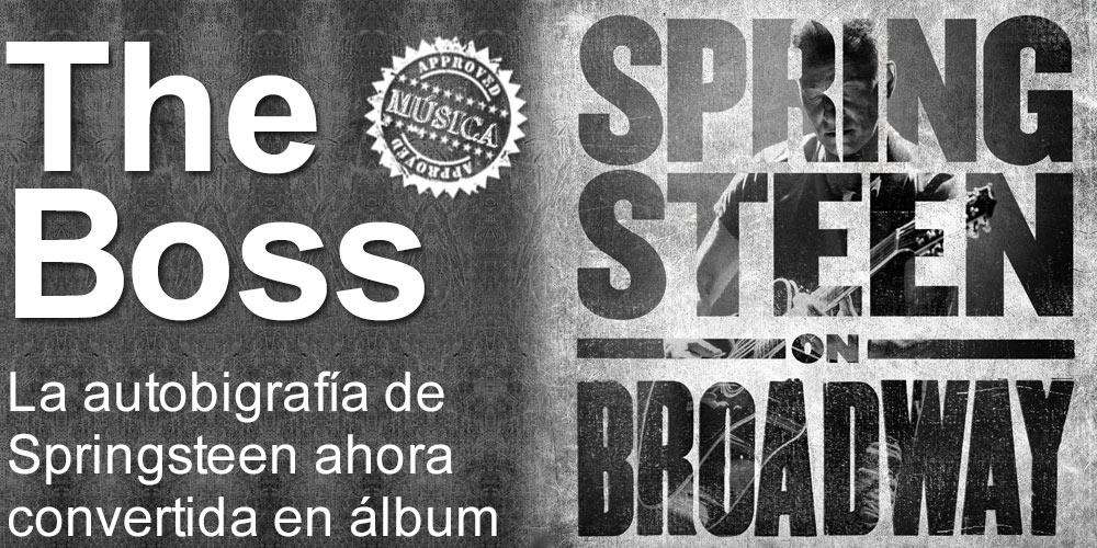 Springsteen on Broadway ahora en álbum post image