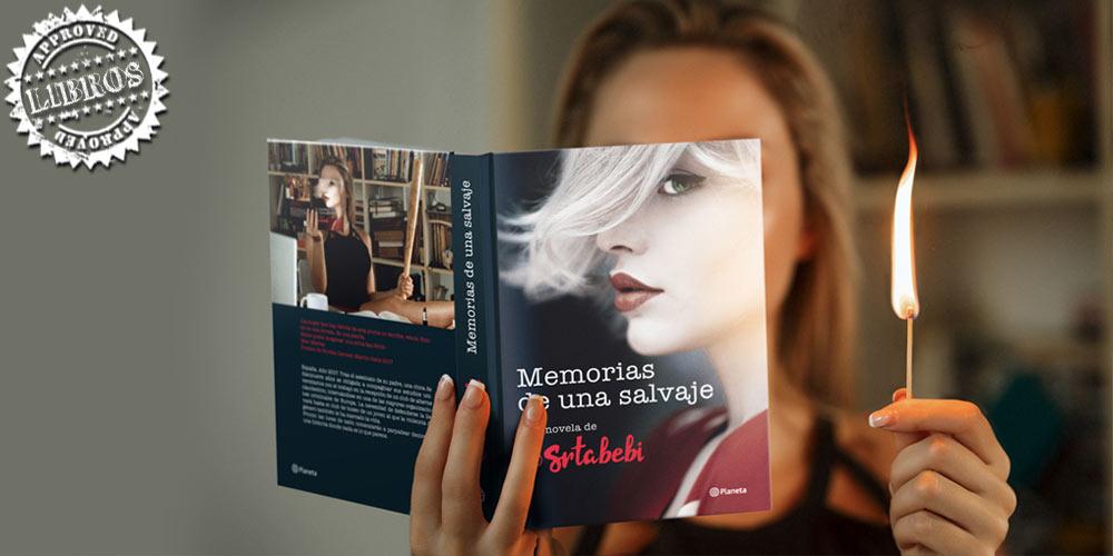 Entrevista a @SrtaBebi autora de 'Memorias de una Salvaje' post image