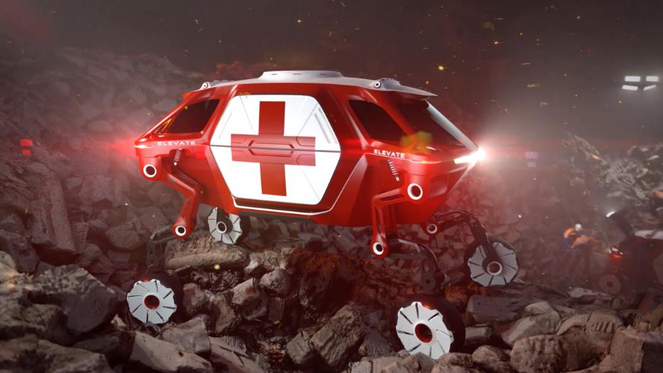 """El Hyundai """"Elevate"""" Walking Car crea una nueva categoría de vehículos, el UMV, Ultimate Mobility Vehicle"""