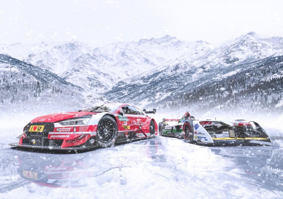 Listos para competir en el frío: Audi en el Ice Race GP que se celebra en Austria