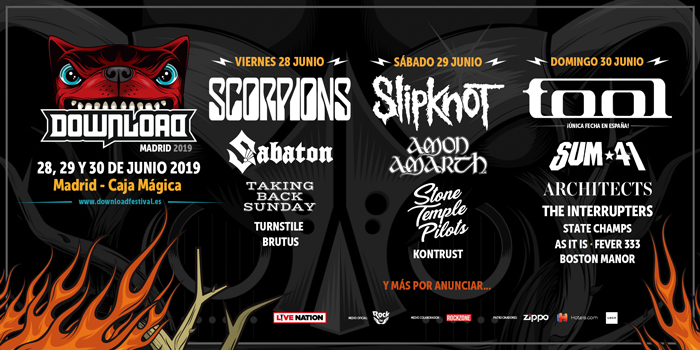 Download Festival Madrid presenta su cartel definitivo