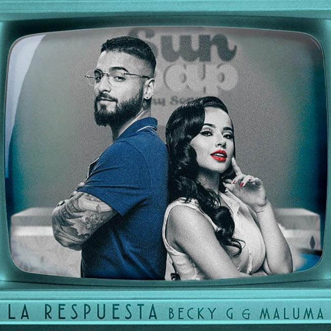Becky G y Maluma lanzan su nuevo sencillo y video 'La Respuesta'
