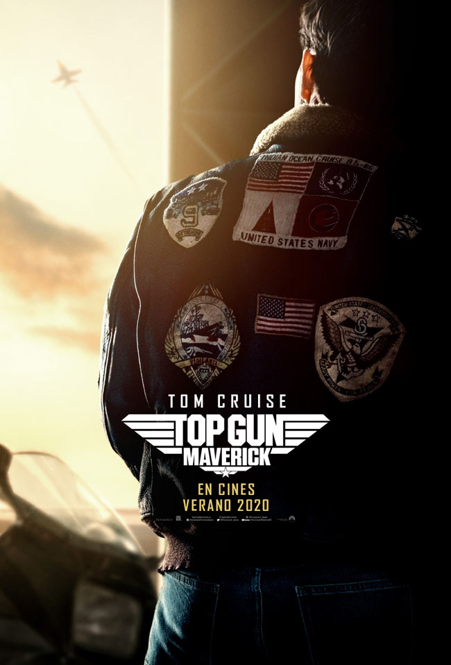 Ya disponible el trailer y el cartel de 'Top Gun: Maverick'