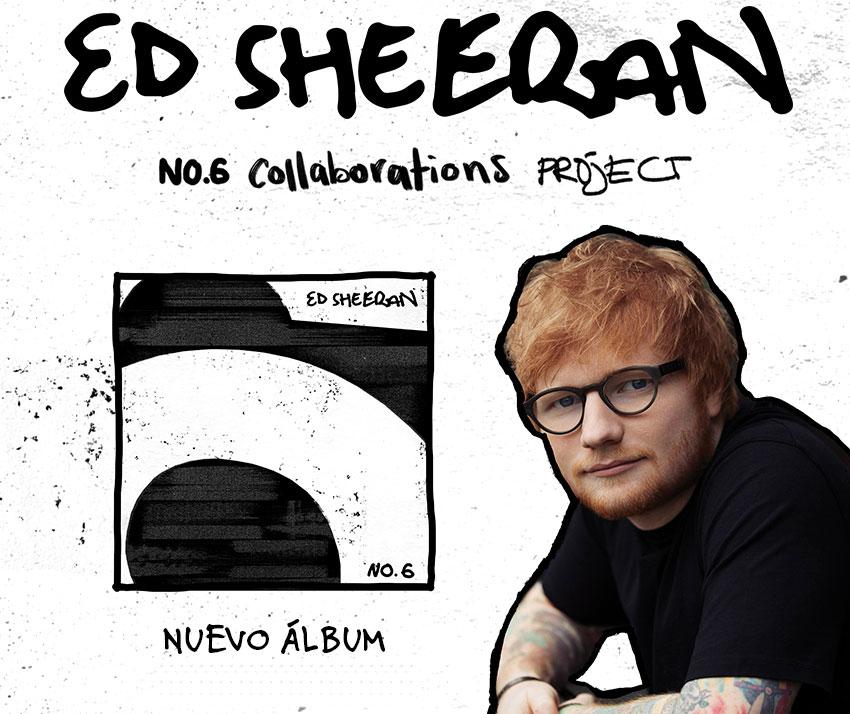Ed Sheeran publica su nuevo álbum y ofrece un espacio inmersivo en Madrid