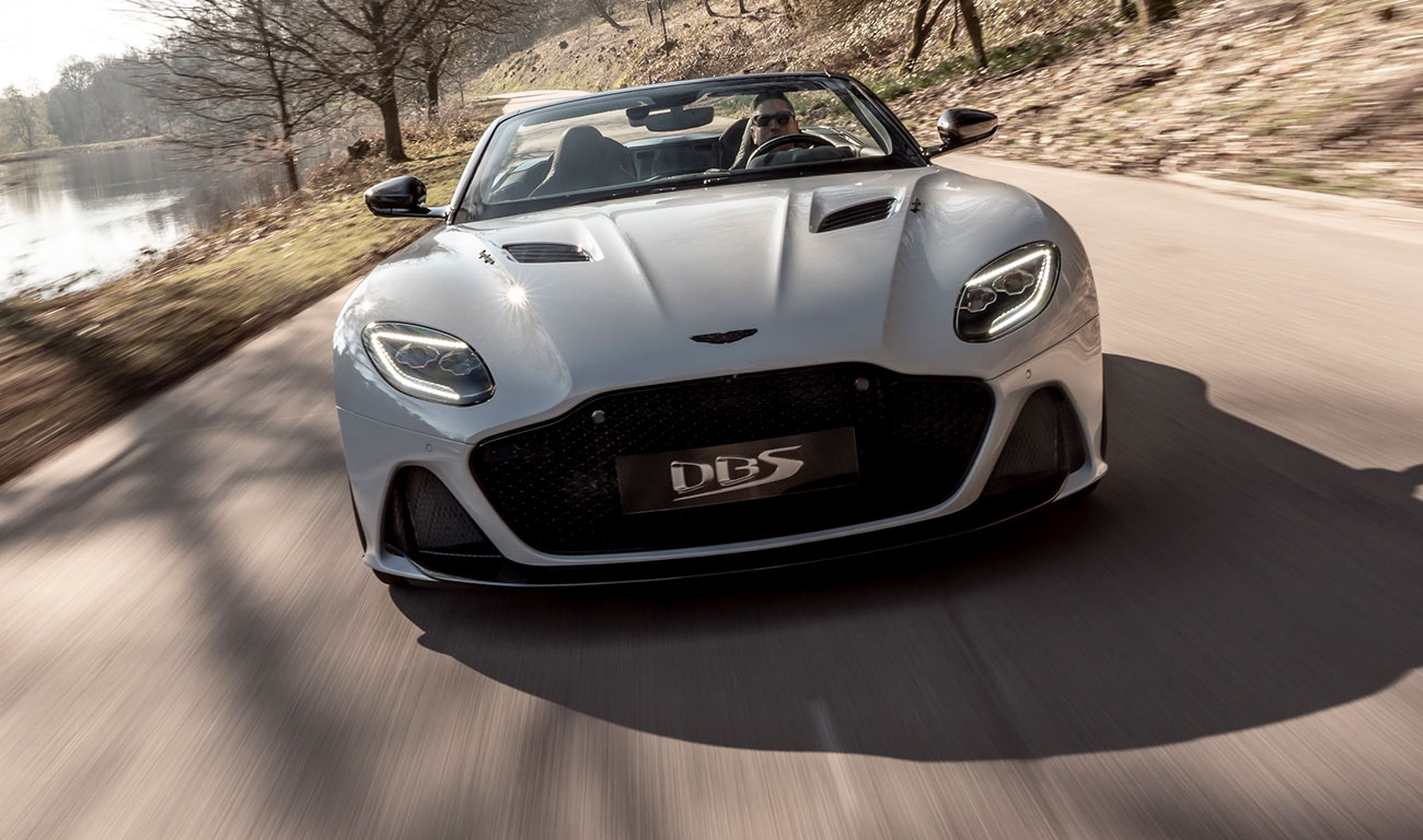 Aston Martin DBS Superleggera Volante, belleza a cielo abierto
