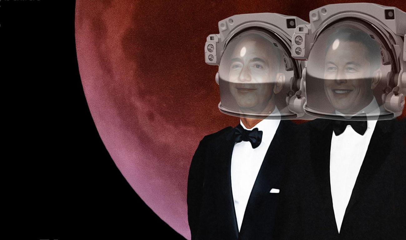 Los señores del espacio, de Christian Davenport