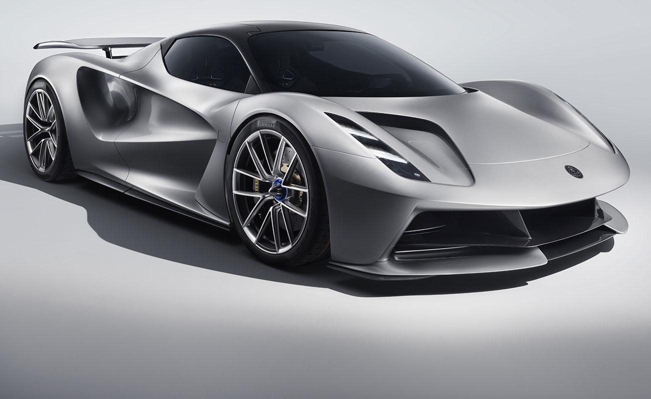 Lotus Evija, el superdeportivo eléctrico más potente del mundo
