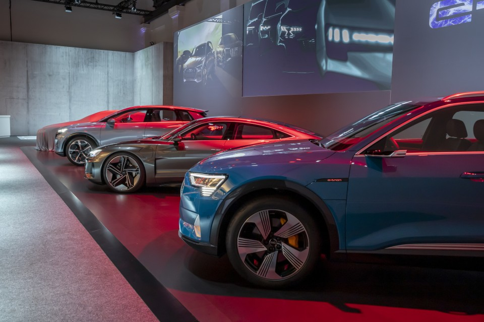 Audi apuesta por la electrificación