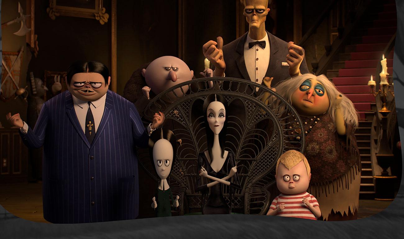 'La Familia Adams', regresa la tribu más rarita y escalofriante del cine
