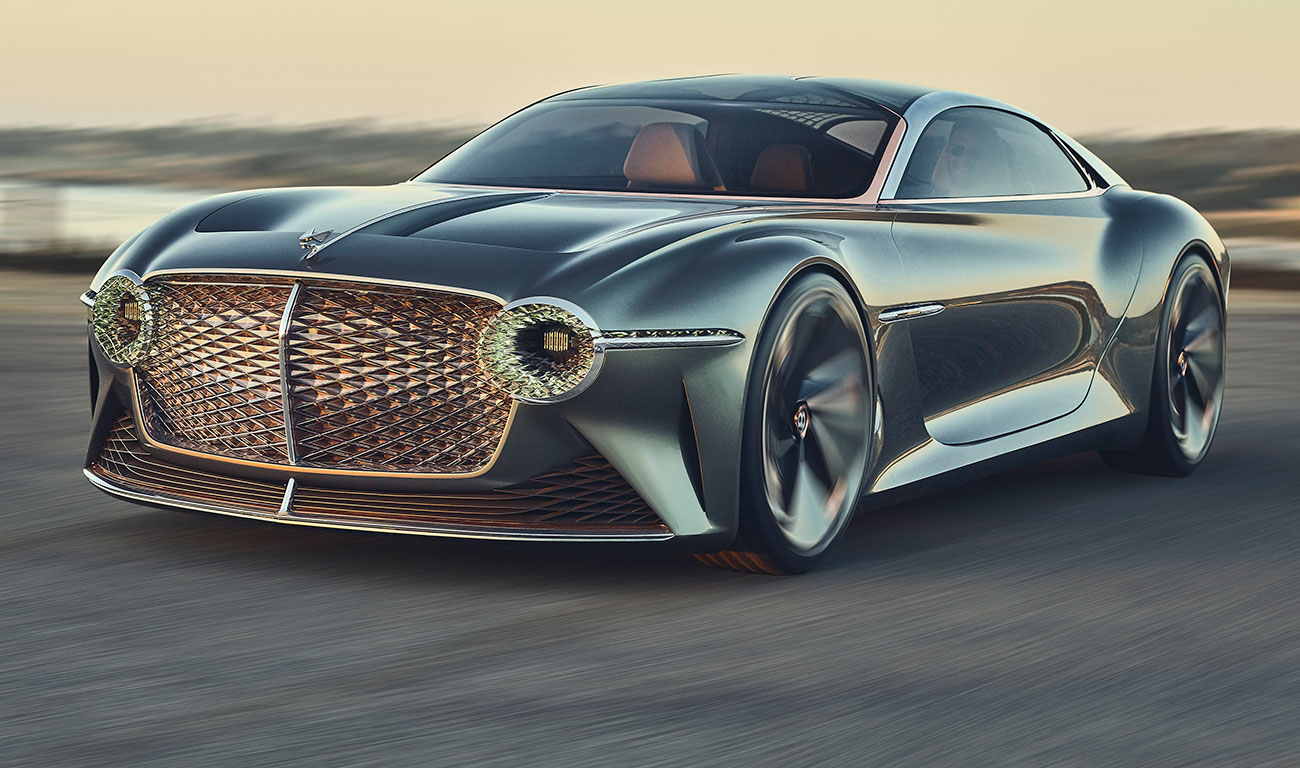 Bentley EXP 100 GT,  el futuro se viste de lujo sostenible