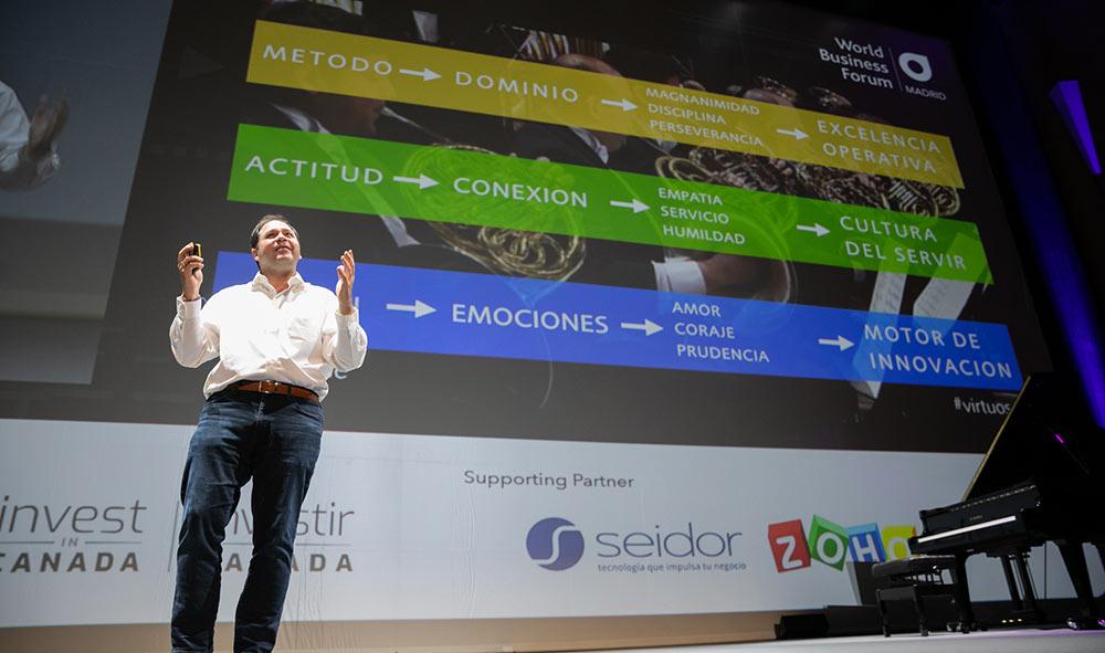 WBFMAD 2019 – Felipe Gómez, gurú del liderazgo virtuoso