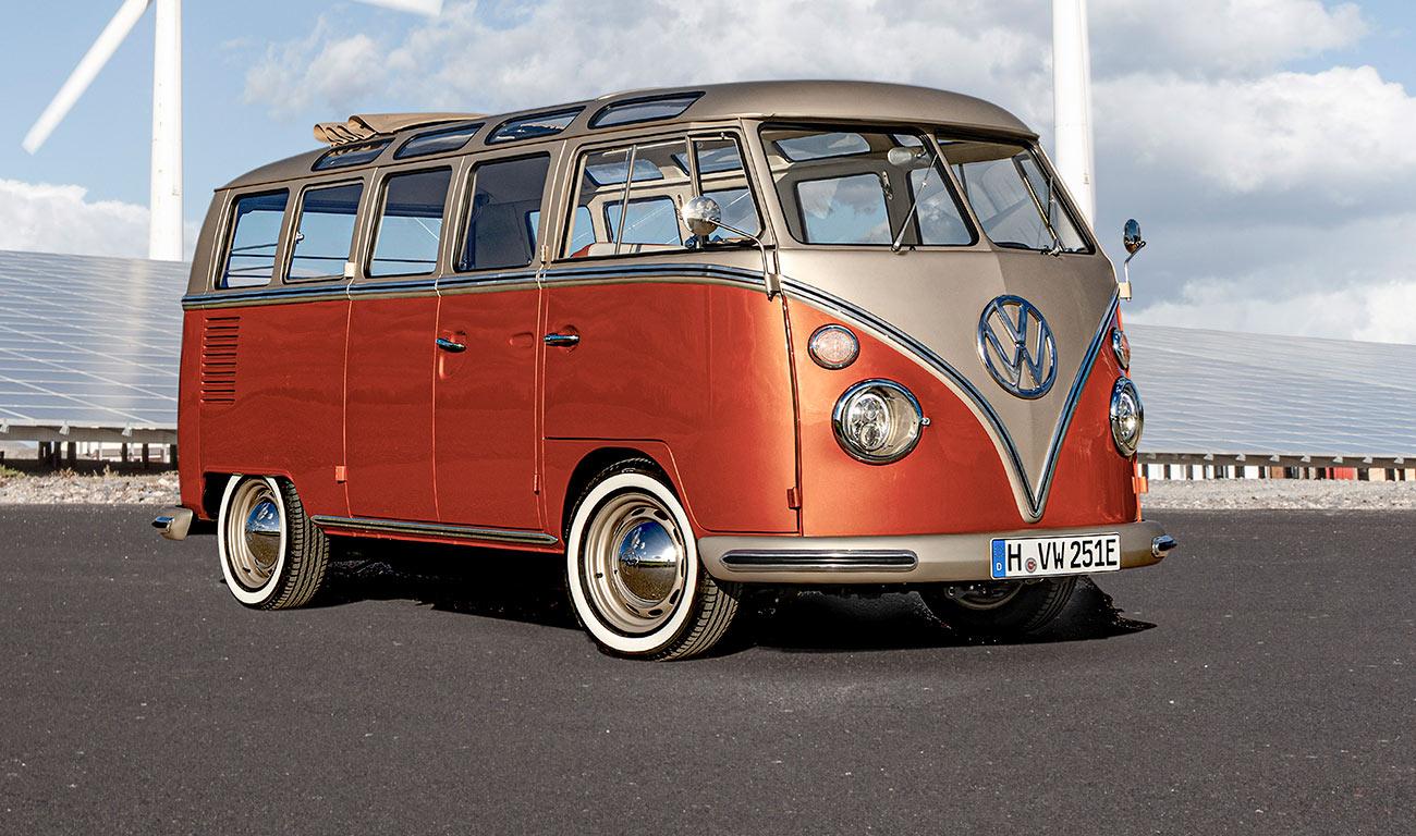 Volkswagen e-Bulli, el mito se hace eléctrico