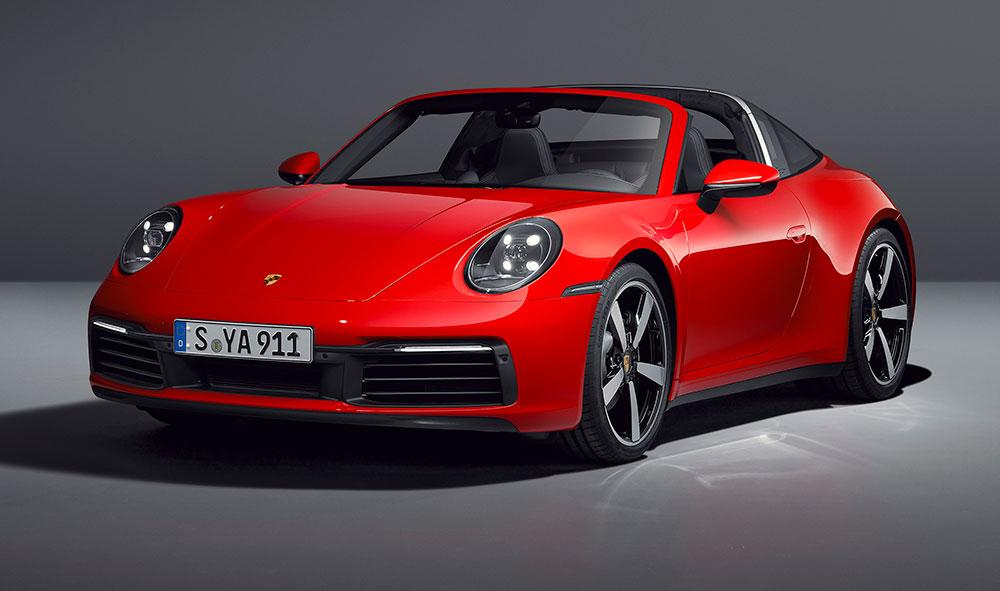 Porsche 911 Targa, clásico y vanguardista a cielo descubierto