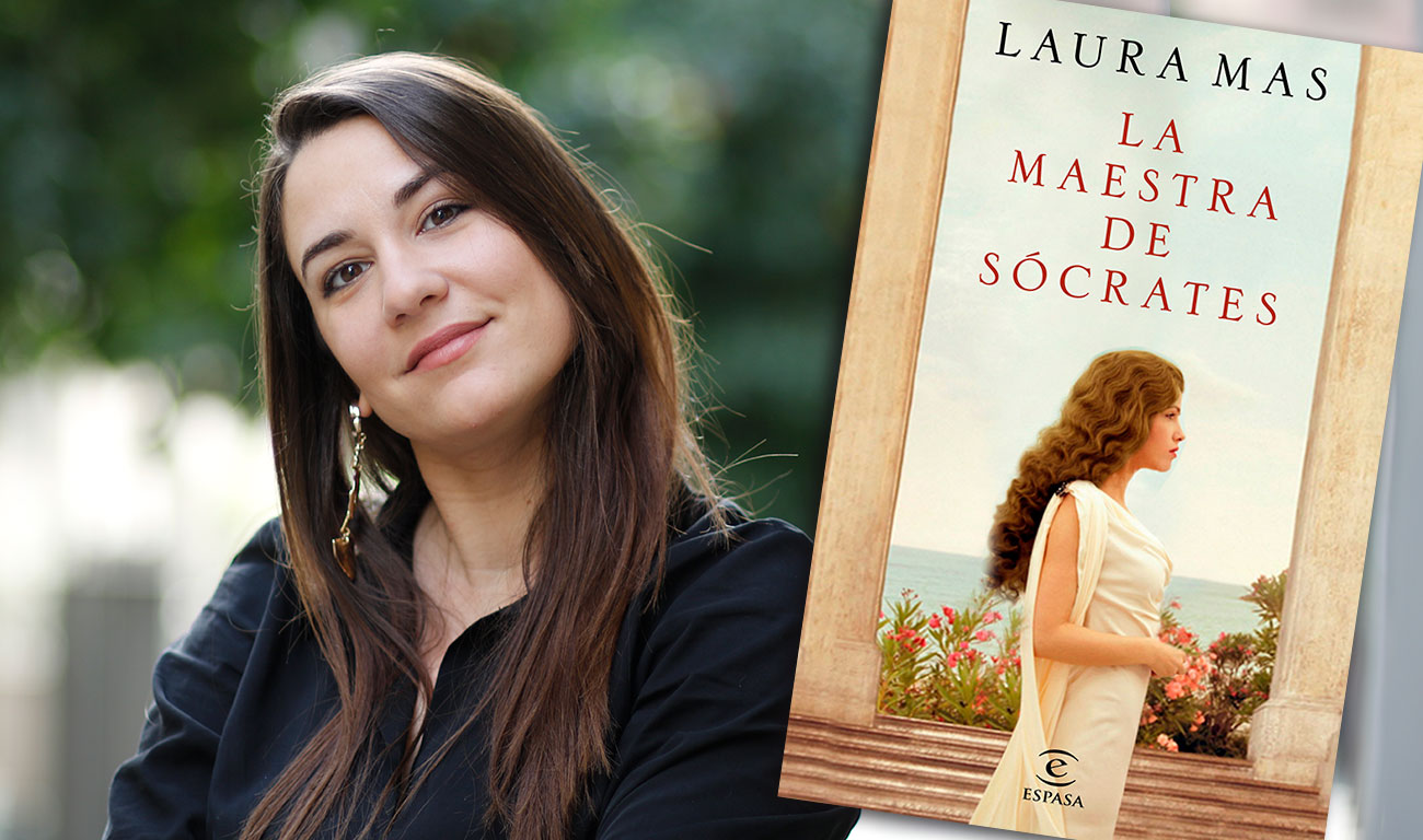 Entrevista a Laura Mas, autora de 'La maestra de Sócrates'