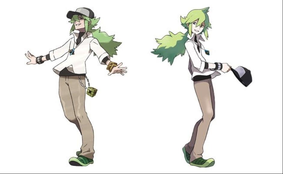 """""""N"""", líder del equipo Plasma en Pokémon Blanco y Negro"""
