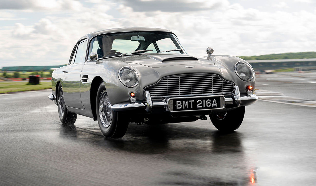 Aston Martin reedita el mítico DB5 de James Bond en Goldfinger