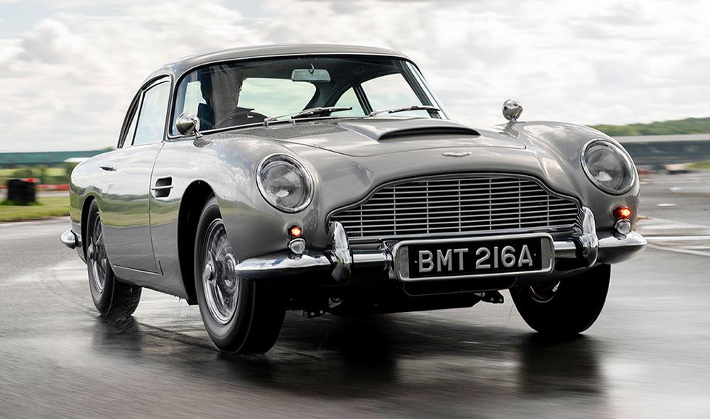Aston Martin reedita el mítico DB5 de James Bond en Goldfinger