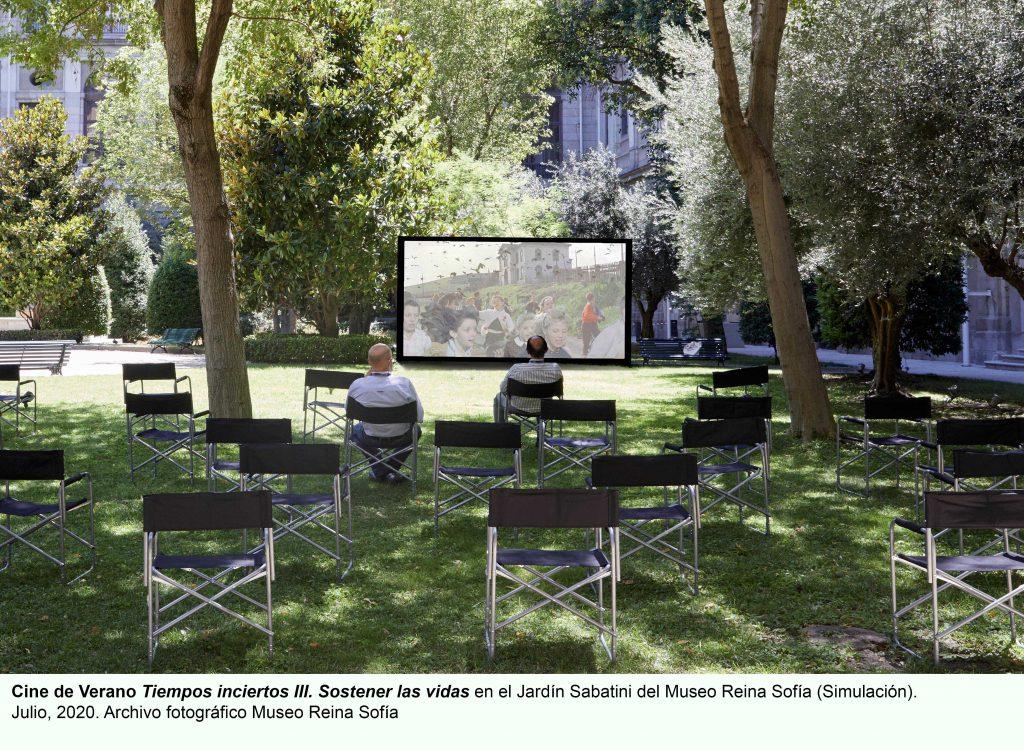 Vuelve el cine presencial al Museo Reina Sofía