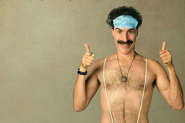 "Borat 2: ""¡Wiwowawiwa Borat en la casa!"""