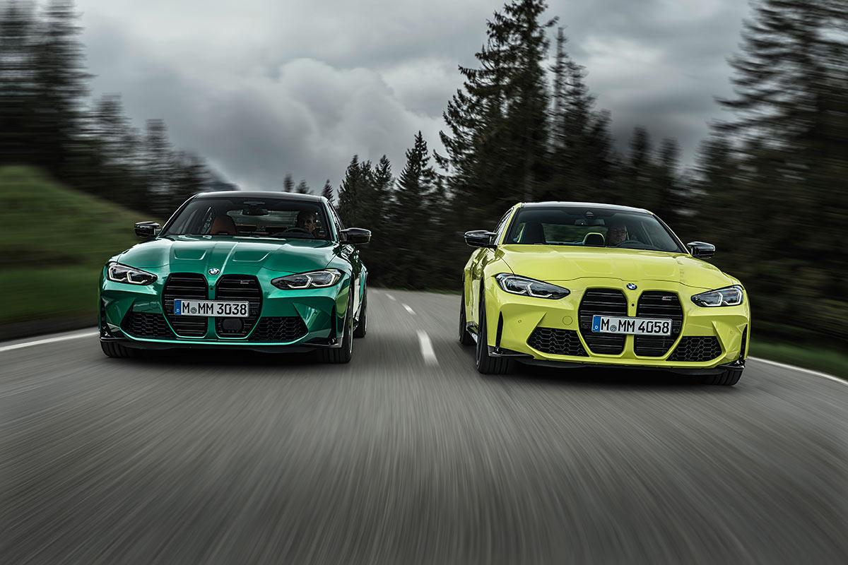 BMW M3 y M4 Competition, pura raza