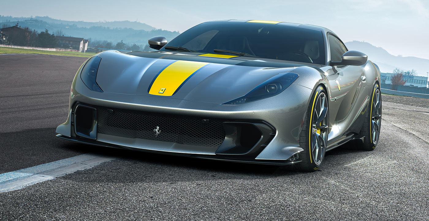 Ferrari 812 Competizione, inalcanzable
