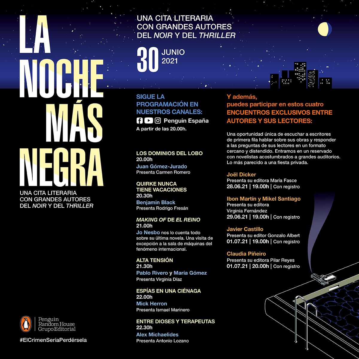 Penguin Random House celebra La Noche Más Negra